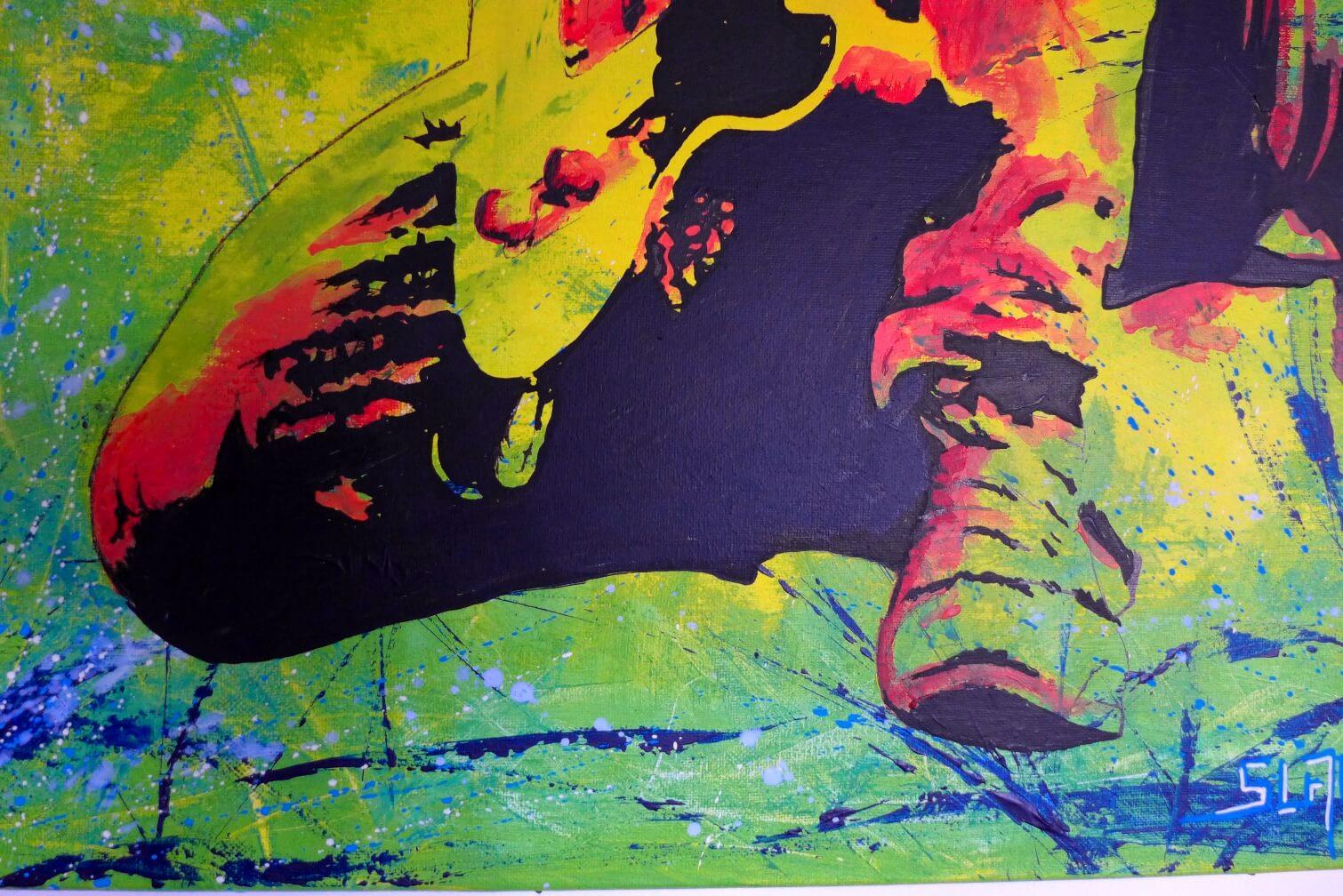 Commande tableau photo sur toile personnalisé keith apercu 2