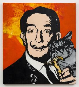 blek le rat street art salvador dali