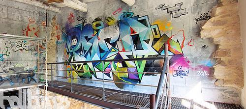 graff mural personnalisé
