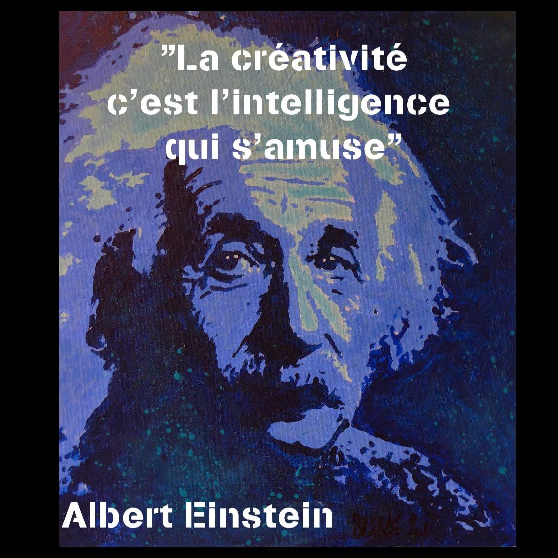 citation albert einstein créativité