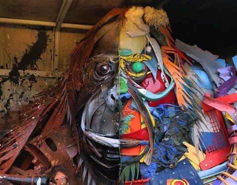 Bordalo-ii-segundo-street-art-august-2017-orang-outan-orang-utan