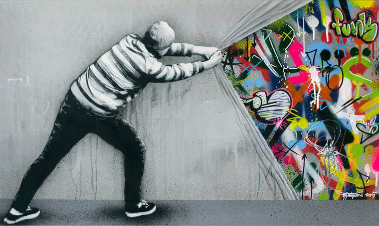 martin whatson comment faire un collage street art color slave 2 0. Black Bedroom Furniture Sets. Home Design Ideas