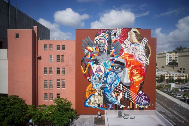 Tristan Eaton mur fresque street art