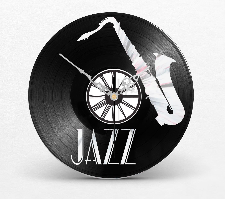 vinyle décoration murale jazz saxophone