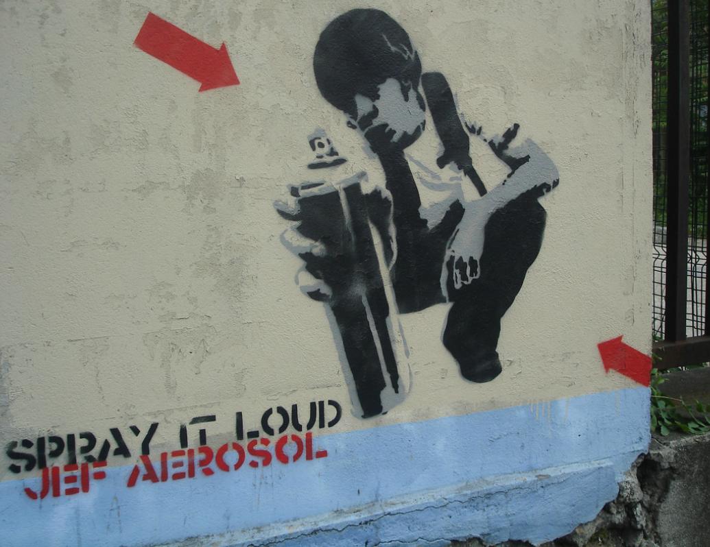 jef aérosol street art