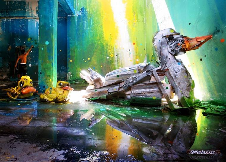 street-art-déchet-denonciation-écologie-bordalo2-oie