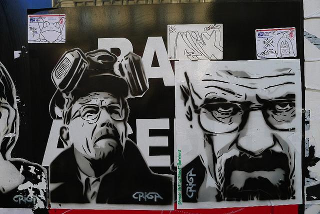 pochoir heisenberg street art