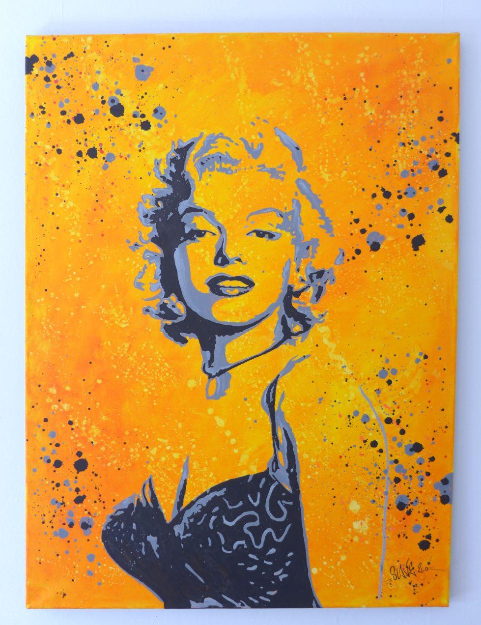 Tableau Street Art Marilyn Monroe sexy - slave 2.0