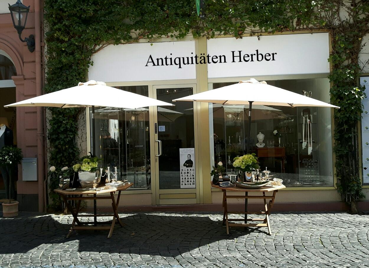 biedermeierm bel taufbecher kerzenhalter in mainz. Black Bedroom Furniture Sets. Home Design Ideas