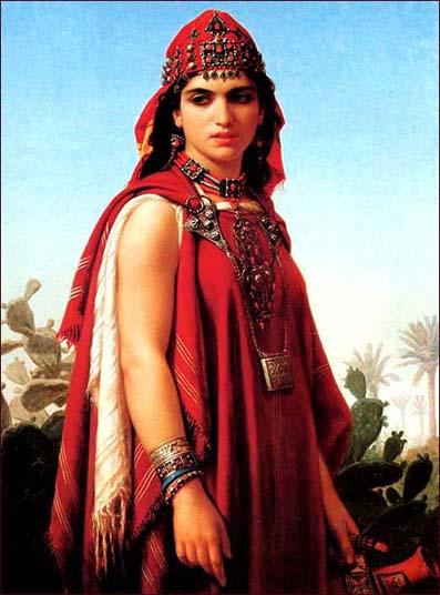 Dihya al Kahina, dipinto di Emile Vernet