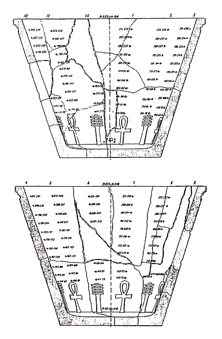 Clessidra di Karnak di Ludwig Borchardt