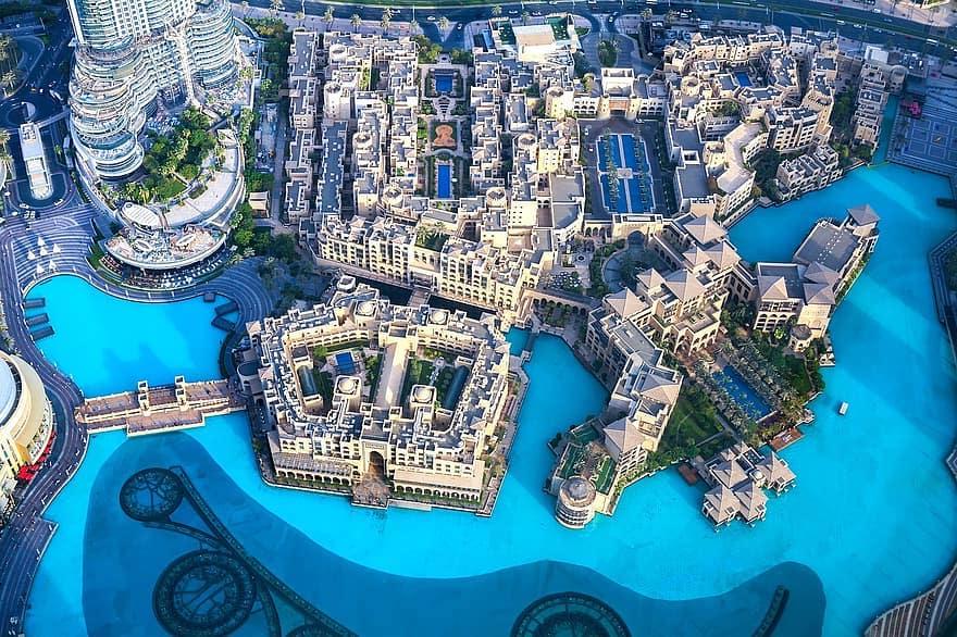 Vista da At The Top Burj Khalifa - Dubai