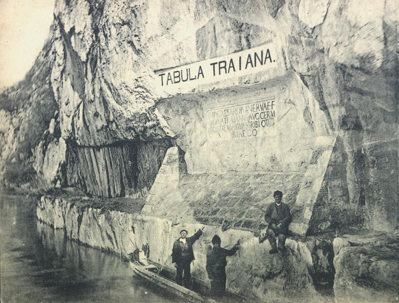 Tabula Traiana, riva serba del Danubio