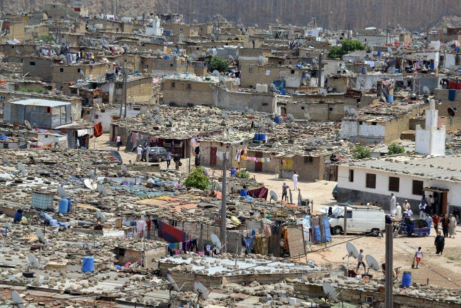 Lo slum di Sidi Moumen, a Casablanca | Foto La Presse