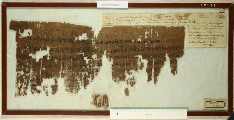 Papiro Sallier I, British Museum