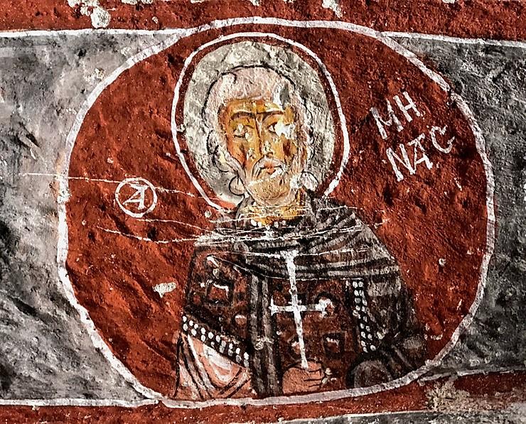"""Ⓐ, ovvero la lettera """"A"""" di agios, santo in greco (foto cappadociahistory)"""