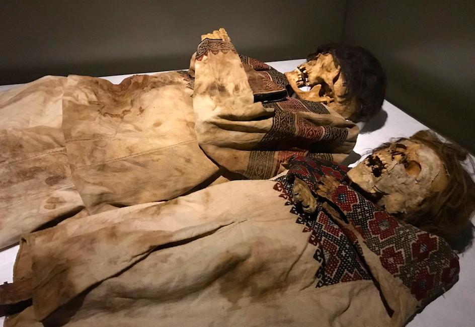 Mummie maronite rinvenute nella Valle di Qadisha - Museo Nazionale di Beirut