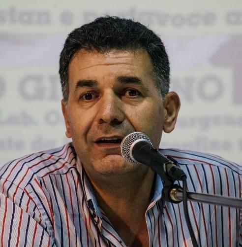 Yilmaz Orkan, responsabile dell'Ufficio d'Informazione del Kurdistan in Italia