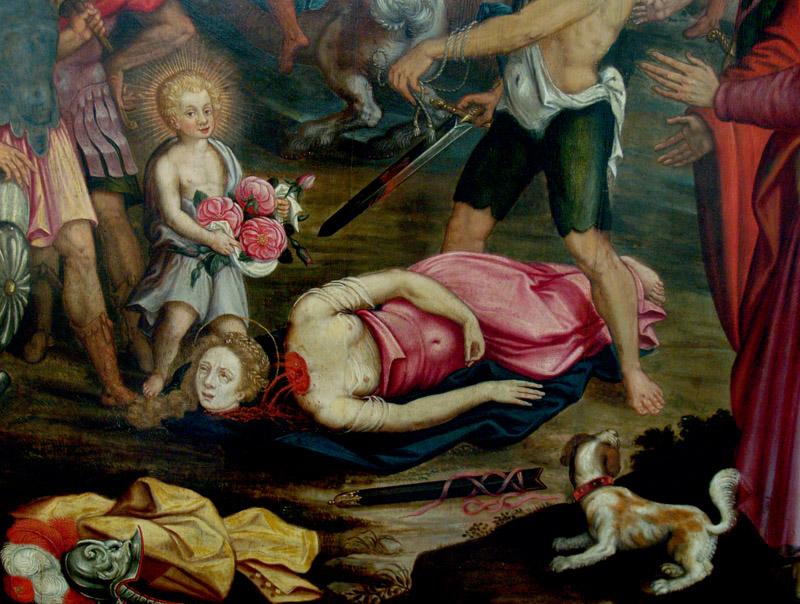 Santa Dorotea di Joost Van Baren, 1593