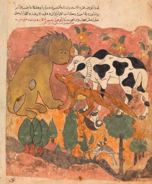 Hekeyat del leone e della mucca - Kalīla wa Dimna
