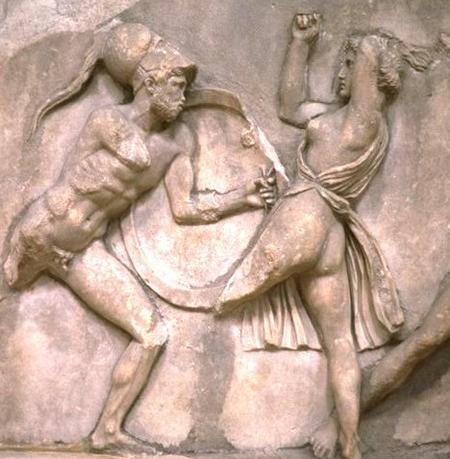 Eracle e Ippolita, regina delle Amazzoni
