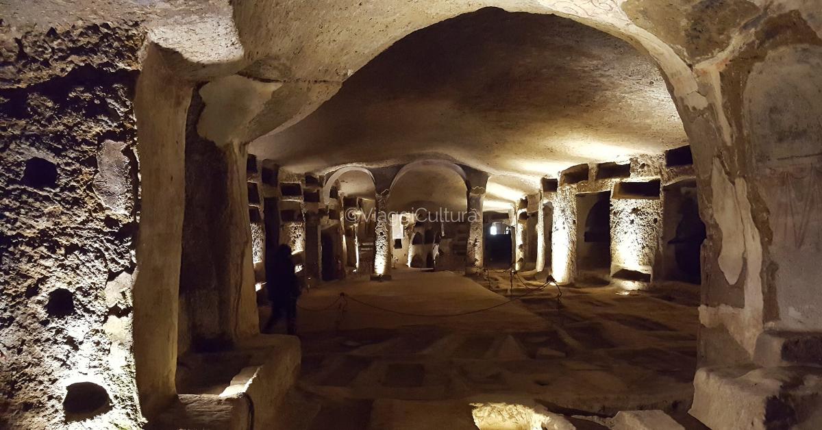 Entrata alle Catacombe di San Gennaro