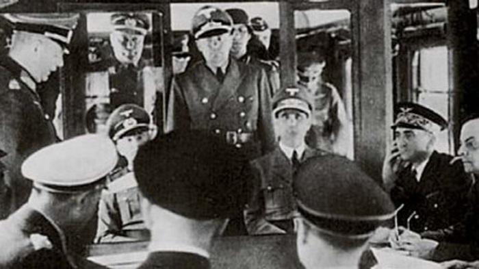 Carrozza numero 2419D che divenne parte del treno personale del Maresciallo Ferdinand Foch