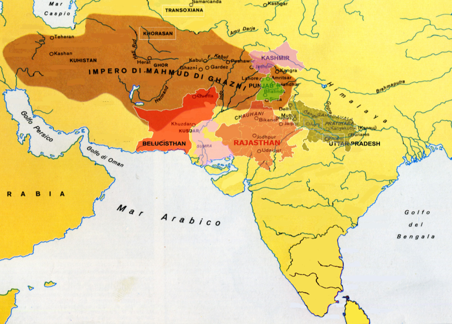 Empire of Maḥmūd of Ghazni