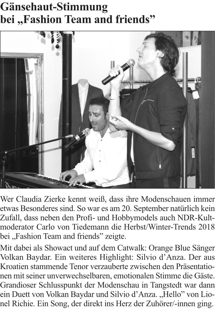 Tangstedter Seiten, Oktober 2018