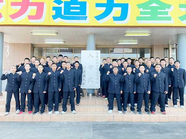 4月7日(水)本校にて入学式が行われました