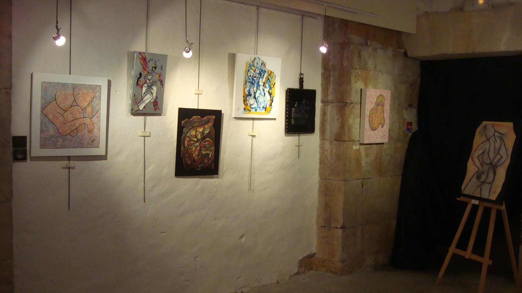 Quelques-unes de mes toiles