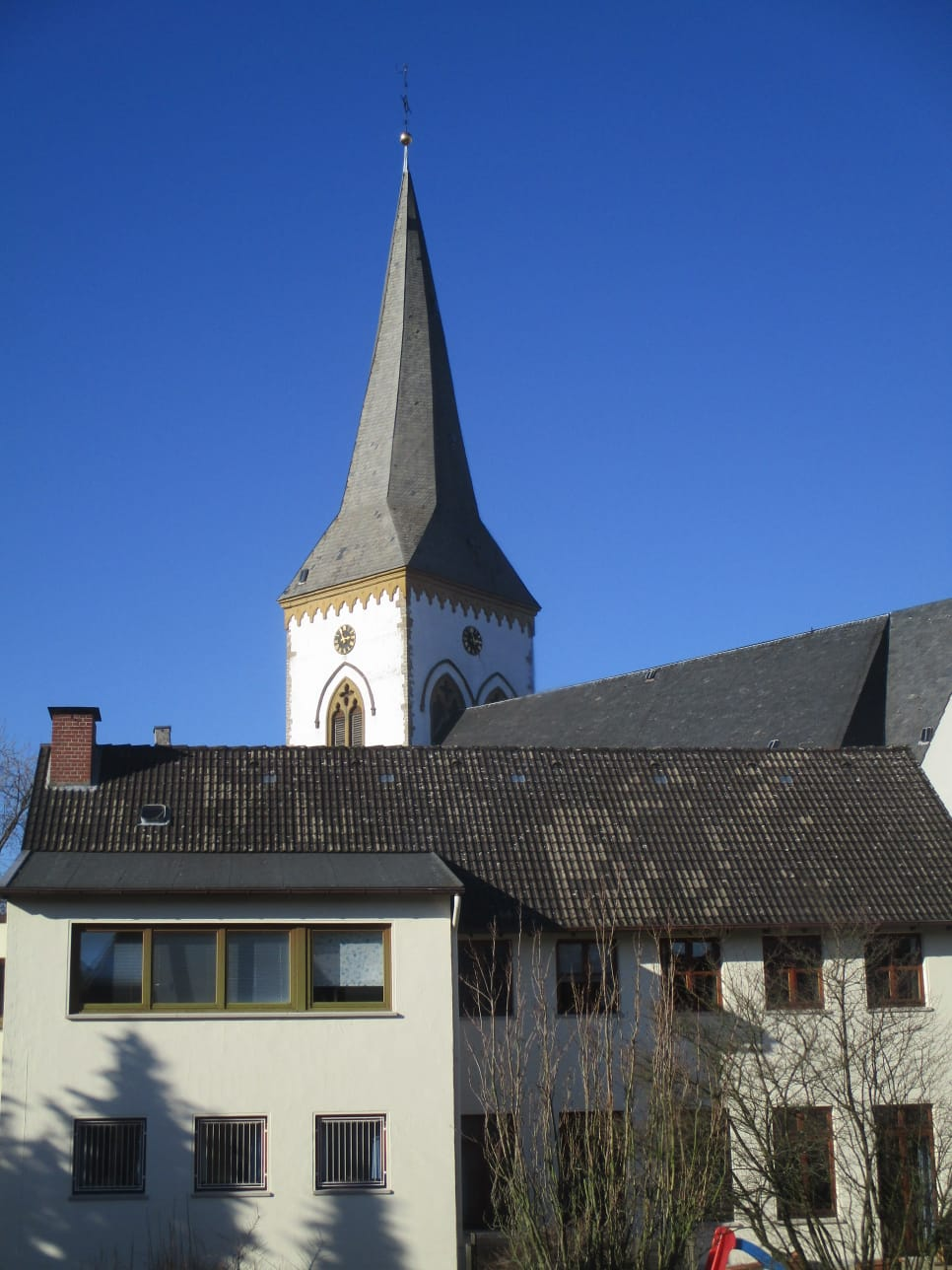 Blick auf die Alexanderkirche / view of the Alexanderchurch