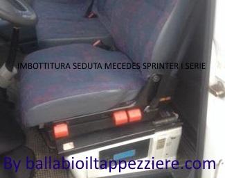 Imbottitura seduta Mercedes SPRINTER By ballabioiltappezziere.com
