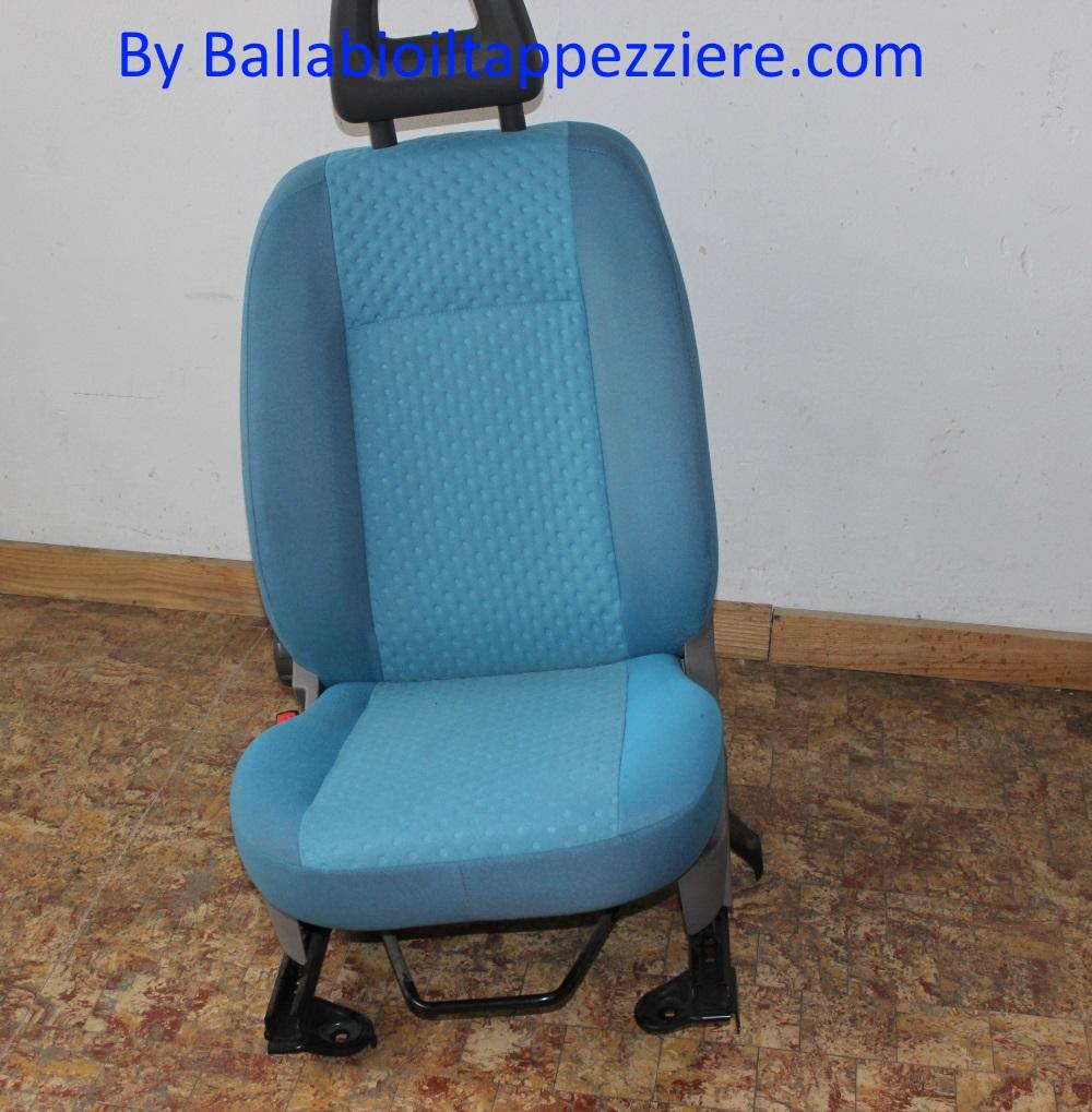 Sedile fiat panda fascia sostituita,imbottitura e sedile pulito. By Ballabioiltappezziere.com