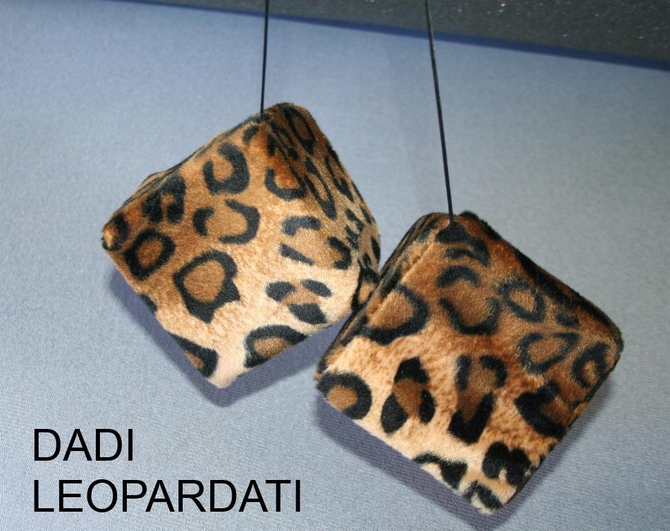 Dadi leopardati/zebrati/tigrati/muccati by Ballabioiltappezziere