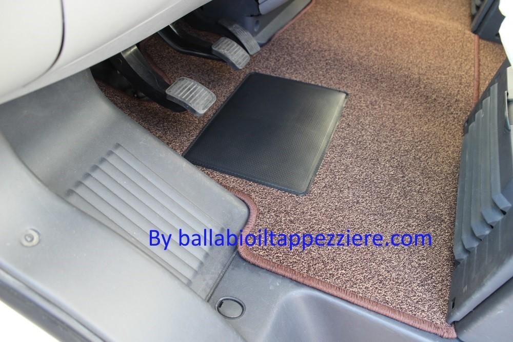 """tappeto camper cabina  """"CI""""  ballabioiltappezziere.com"""
