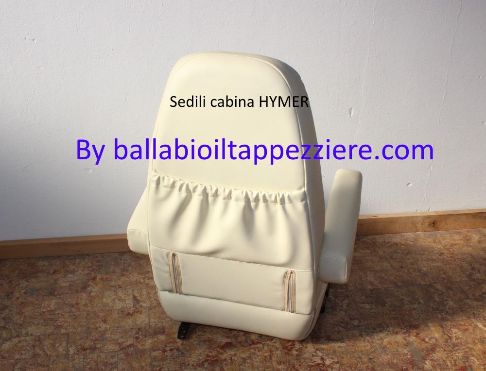 Sedile dopo la  lavorazione con creazione di tasca portaoggetti/documenti by ballabioiltappezziere.com