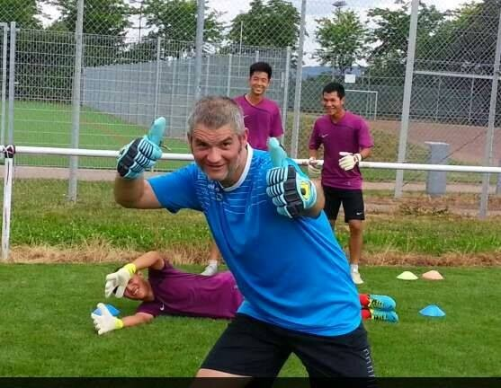 Torwarttraining Torwarttrainer 1 Keeper Jack Design