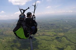 Paragliding Roldanillo Kolumbien Tour