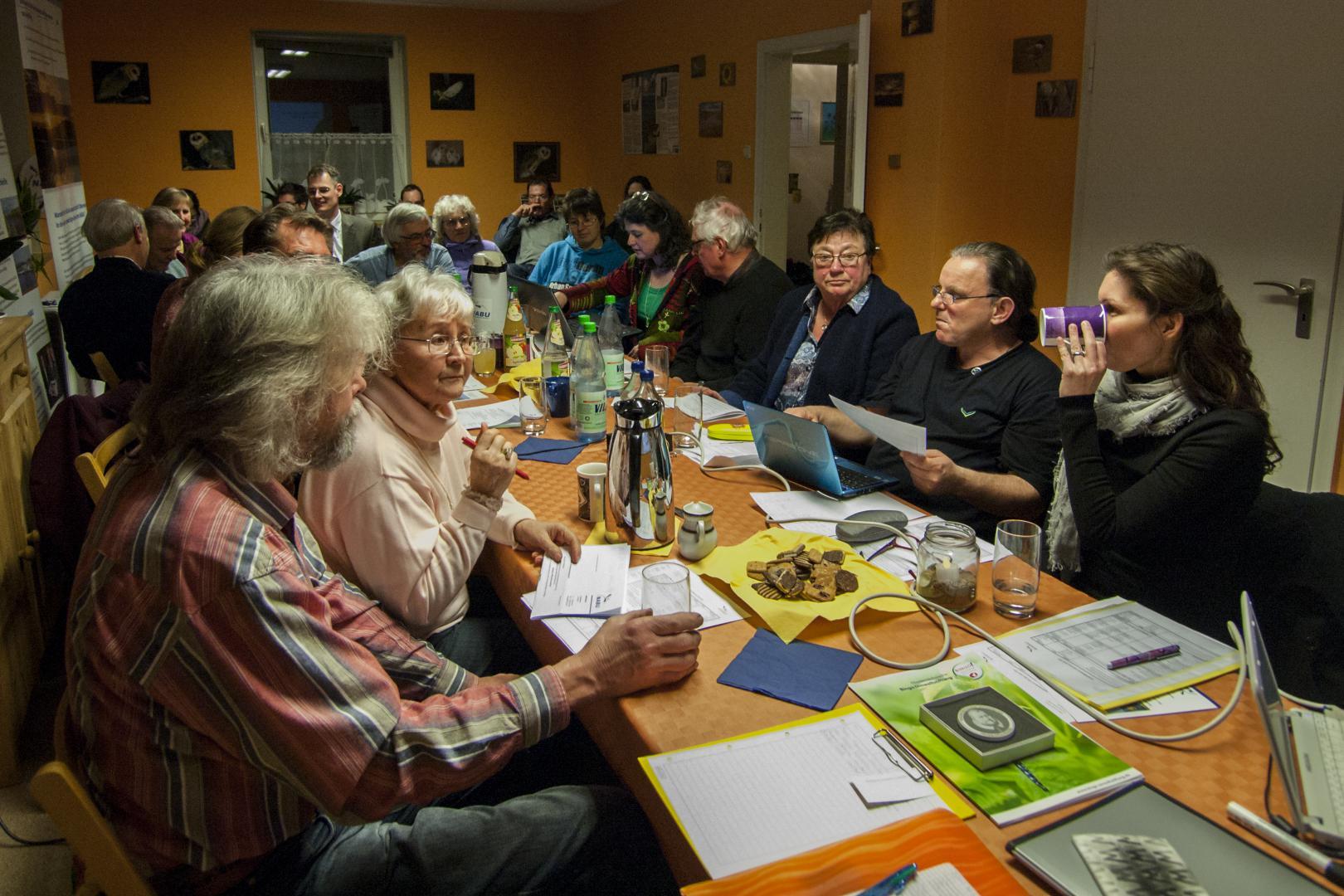 Die Jahreshauptversammlung im März 2015 im NUZ war gut besucht. - Foto: Kathy Büscher