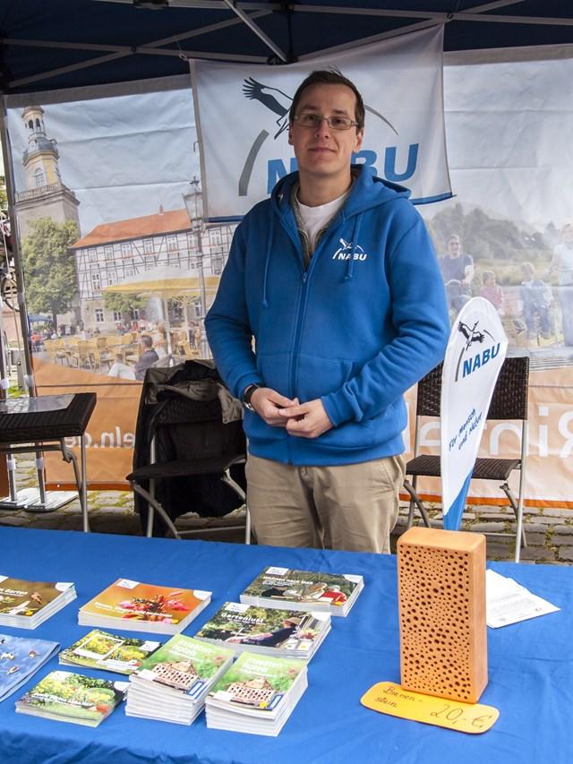Dr. Nick Büscher vom NABU. - Foto: Kathy Büscher