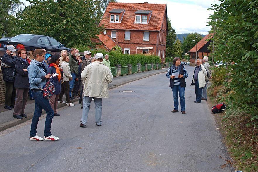 Wanderung durch Hohenrode. - Foto: Kathy Büscher
