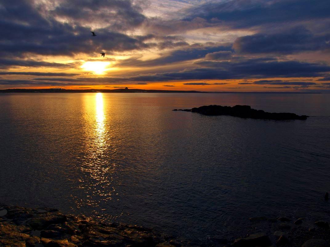 Sonnenaufgang in Penzance. - Foto: Kathy Büscher