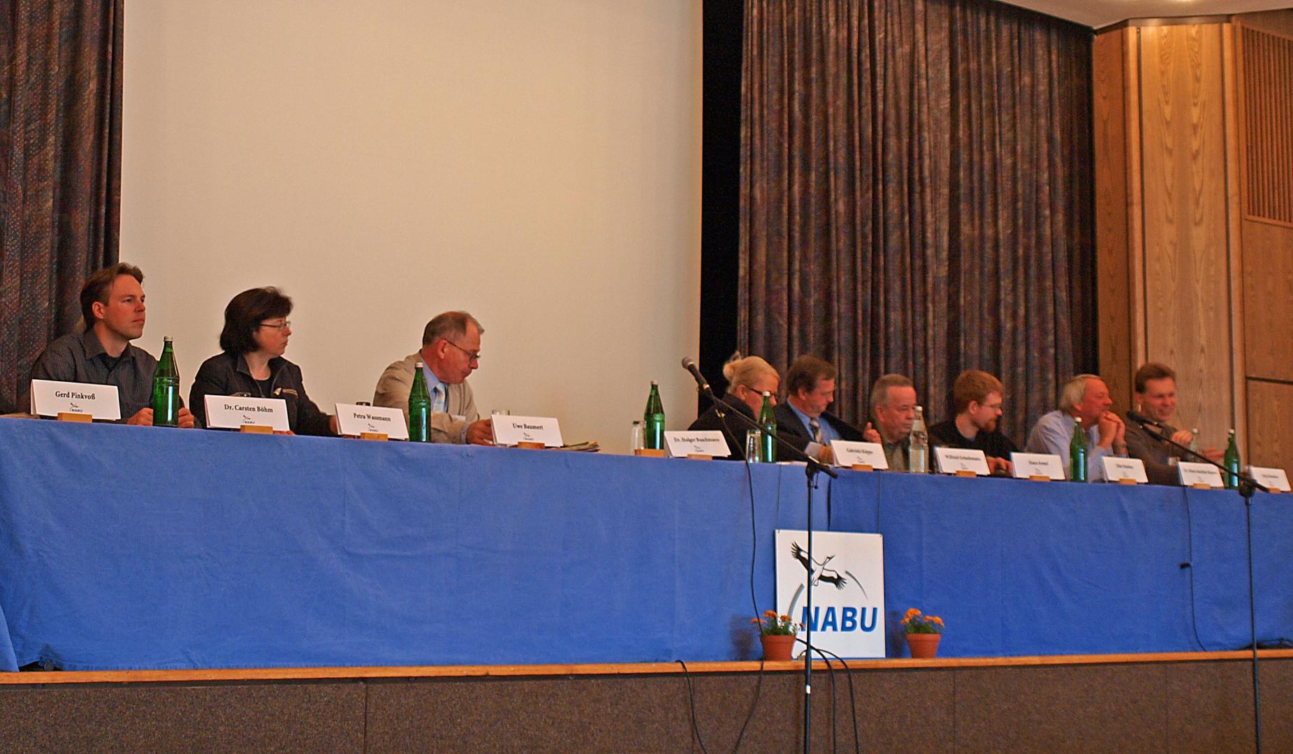 Vorstand des Landesverbandes im Jahr 2010 in Rinteln. - Foto: Kathy Büscher
