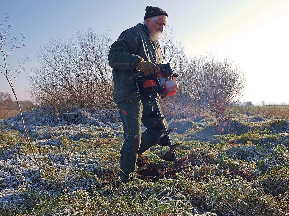 Und um für mehr Struktur und Lebensraum zu sorgen, werden Hecken und Bäume gepflanzt. - Foto: Kathy Büscher