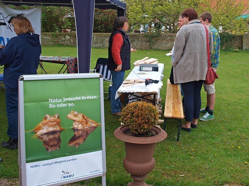 Bei den Pflanzentagen 2012. - Foto: Kathy Büscher