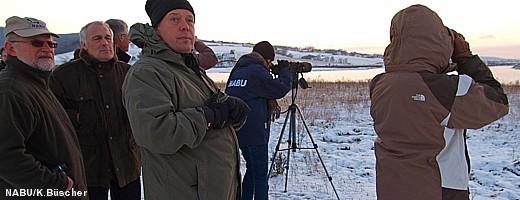 Im Anschluss an die Feierstunde konnten sich die Gäste von der Schönheit der Auenlandschaft auf der von dem Diplom-Biologen Thomas Brandt geführten Exkursion überzeugen.