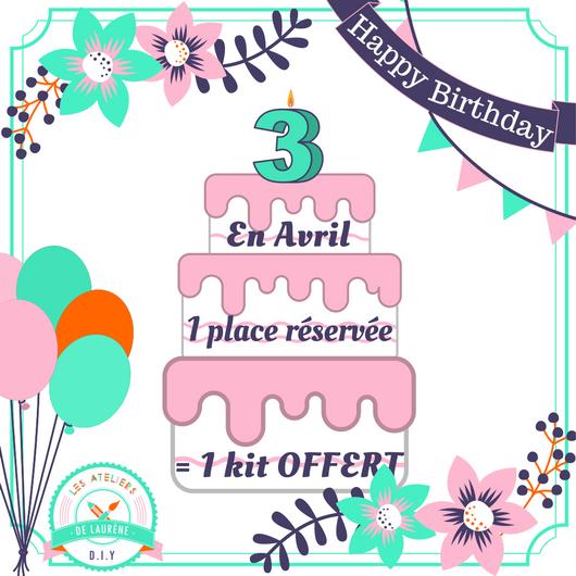 offre-speciale-anniversaire-3ans-LesAteliersDeLaurene