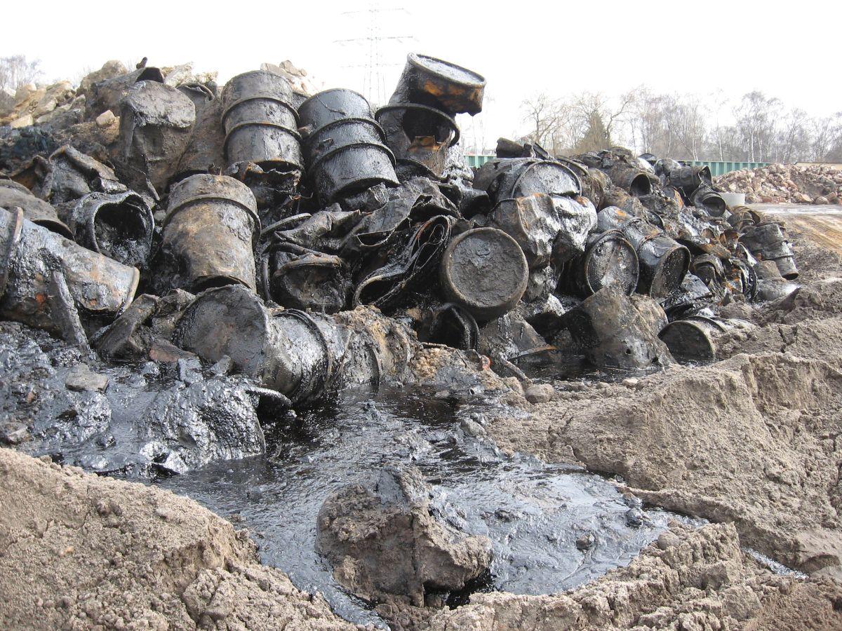 """Ehemaliges Gaswerkgelände """"Am Radeland"""" - Flächensanierung"""