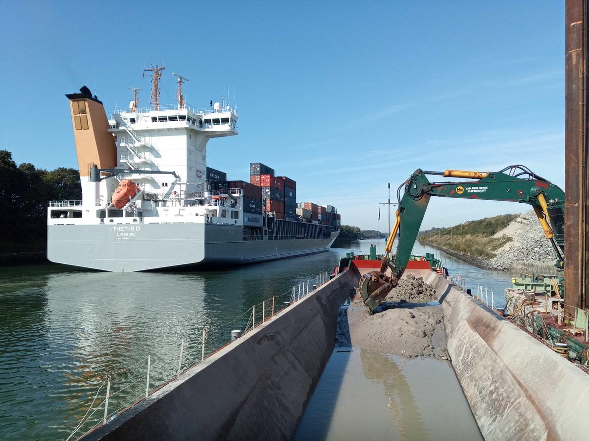 Nord-Ostsee-Kanal, wasserseitig - Bodenmanagement, örtliche Bauüberwachung